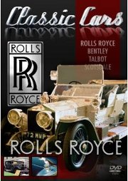 DVD - Classic Cars - Rolls Royce/Bentley/Talbot/..