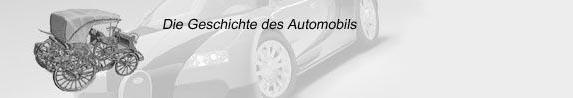 Die Automobilgeschichte