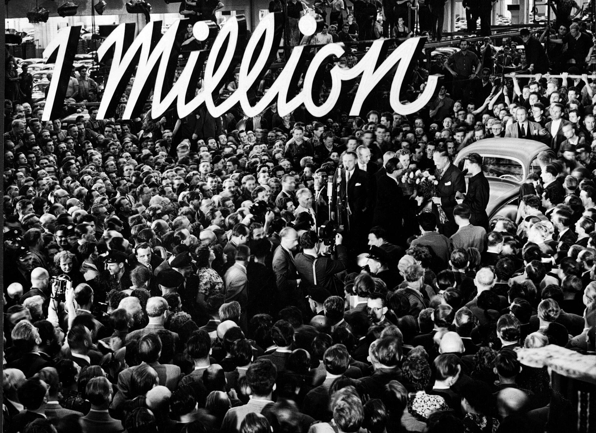 Volkswagen knackt die erste Millionen