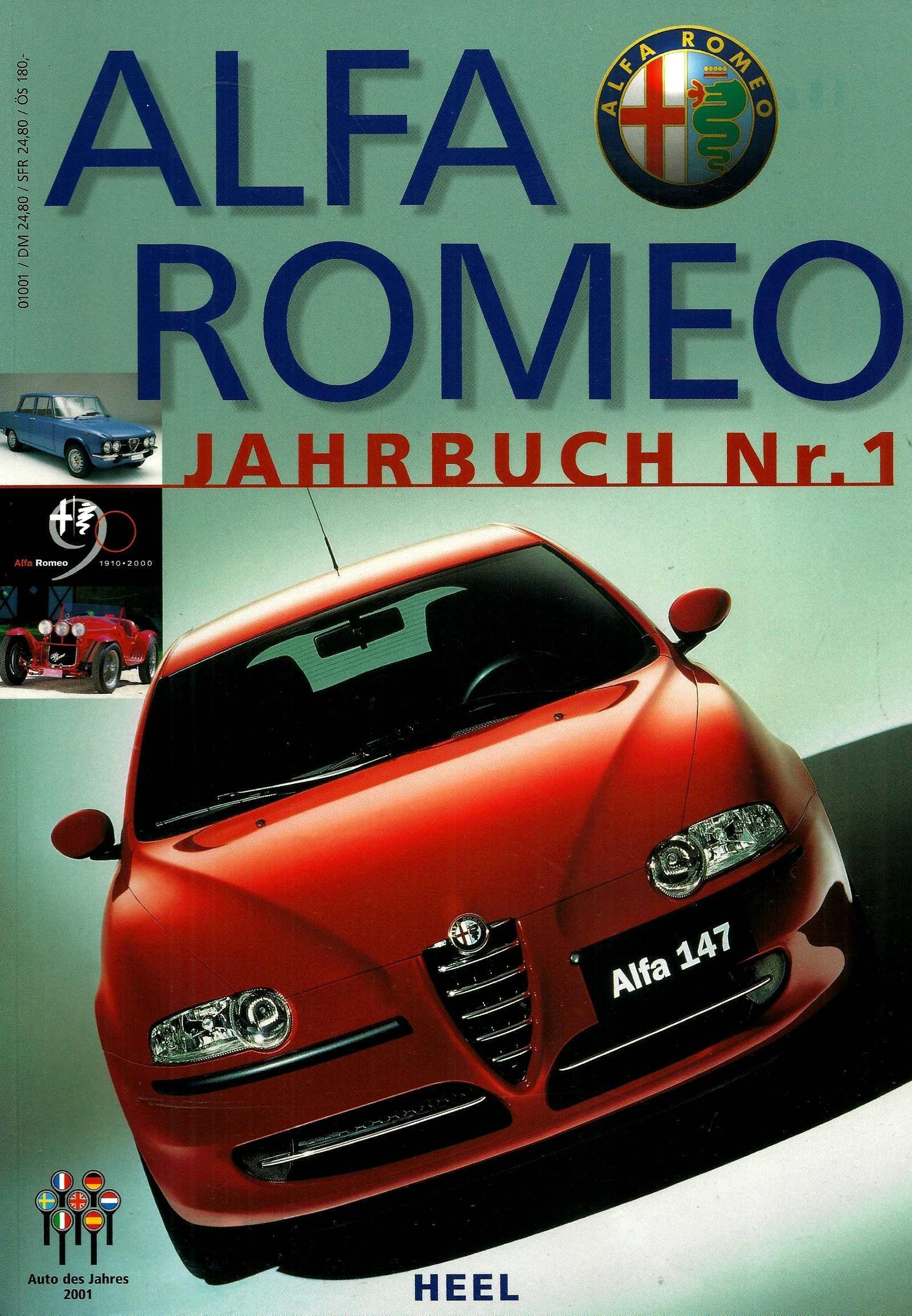 Alfa Romeo Jahrbuch Nr 1
