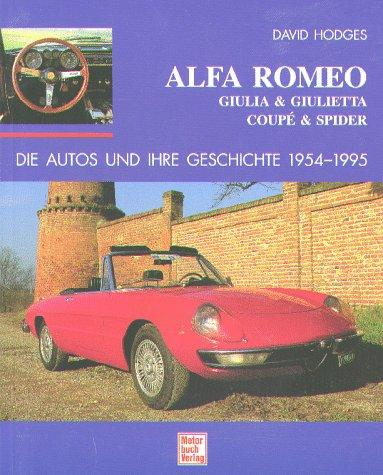Alfa Romeo Giulia Giulietta Coupe Spider 1954 1995