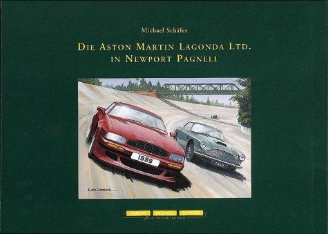 Die Aston Martin Lagonda LTD in Newport Pagnell Leineneinband