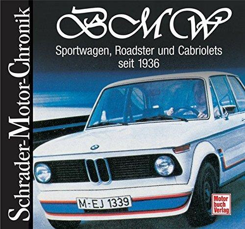 BMW Sportwagen Roadster und Cabriolets seit 1936