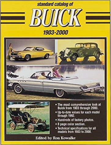 Standard Catalog of Buick 1903 bis 2000