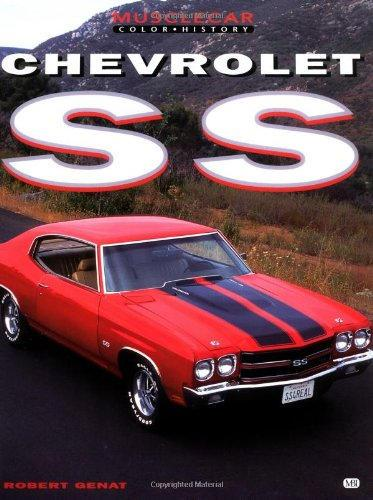 Chevrolet SS Muscle Car Color History