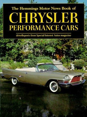 Book of Chrysler Performance Cars