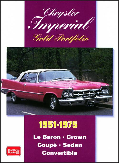 Chrysler Imperial 1951-1975 Gold Portfolio