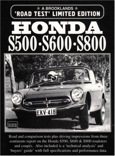 Honda S500-S600-S800 (Brooklands Road Test Books)