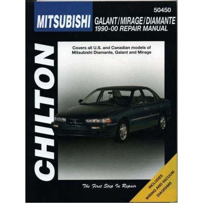 Chilton Mitsubishi Galant/Mirage/Diamante 1990-00