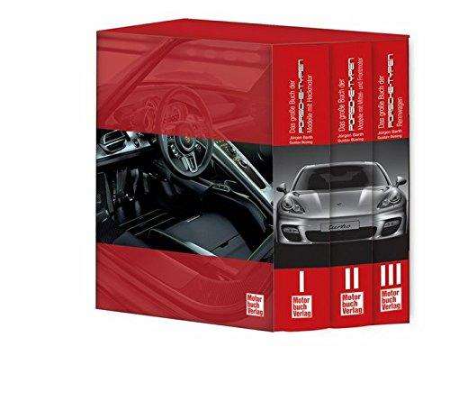 Das große Buch der Porsche-Typen: 3 Bände im Schuber