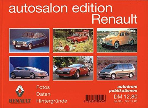 Autosalon Edition. Markenporträt / Renault