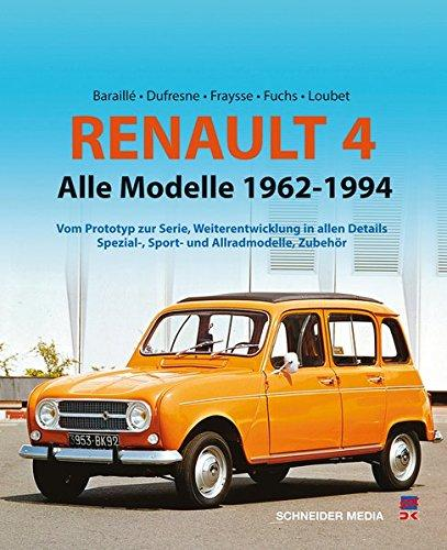 Renault 4: Alle Modelle 1961 - 1994