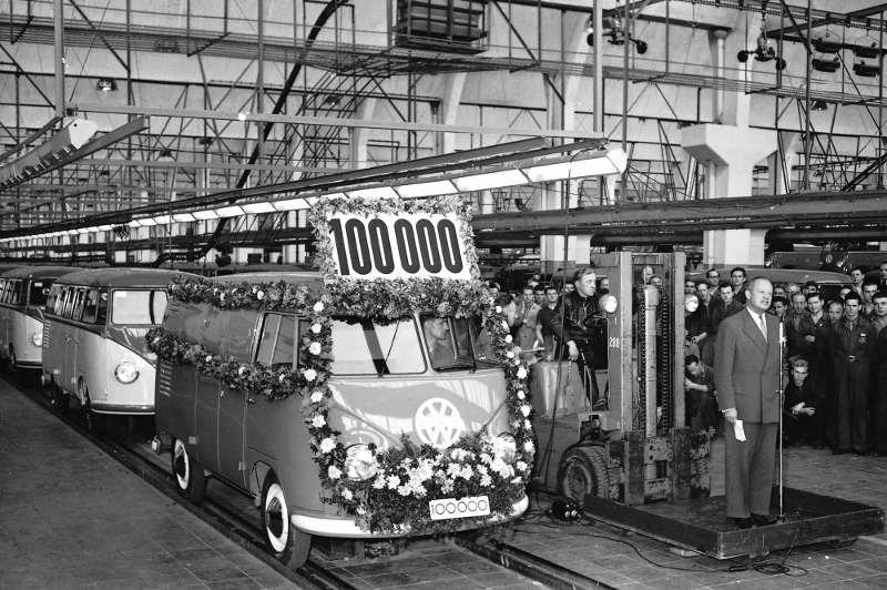 Der 100.000ste VW T1 Bulli