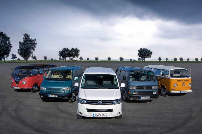 VW Bulli T1 bis T5