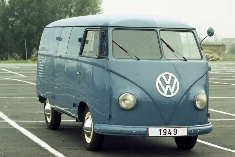 """VW T1 Kastenwagen 1949 mit Flachdach und kurzem Radstand (Spitzname """"Sofie"""")"""