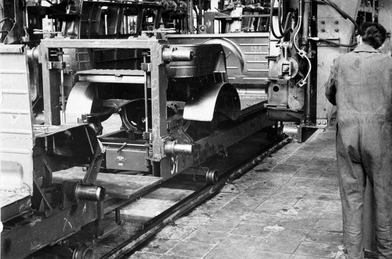 VW T1 Produktionslinie