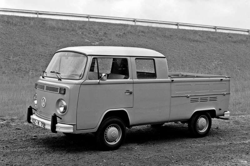 VW T2 Pritsche Doppelkabine