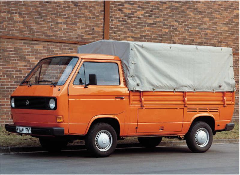 VW T3 Pritsche mit Planenaufbau