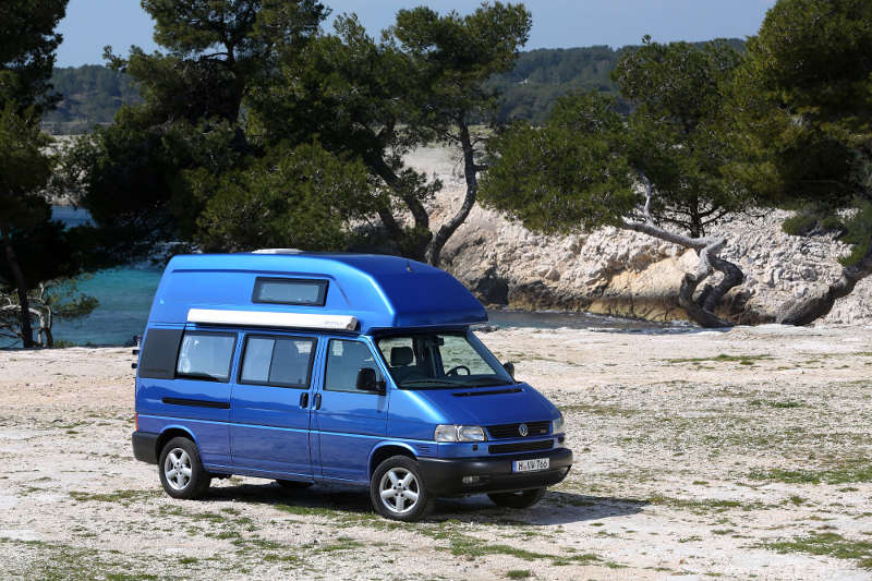 VW T4 Carlifornia Exclusive Campingbus mit Hochdach