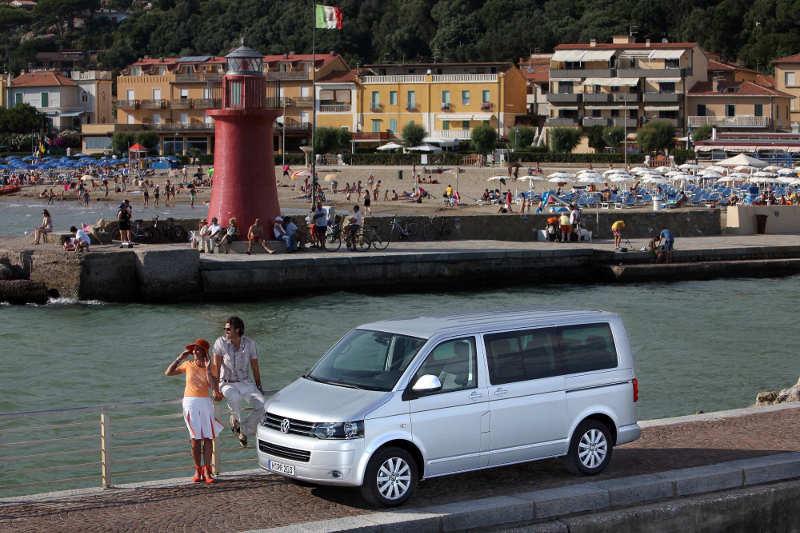 VW T5 Multivan Highline mit Flachdach