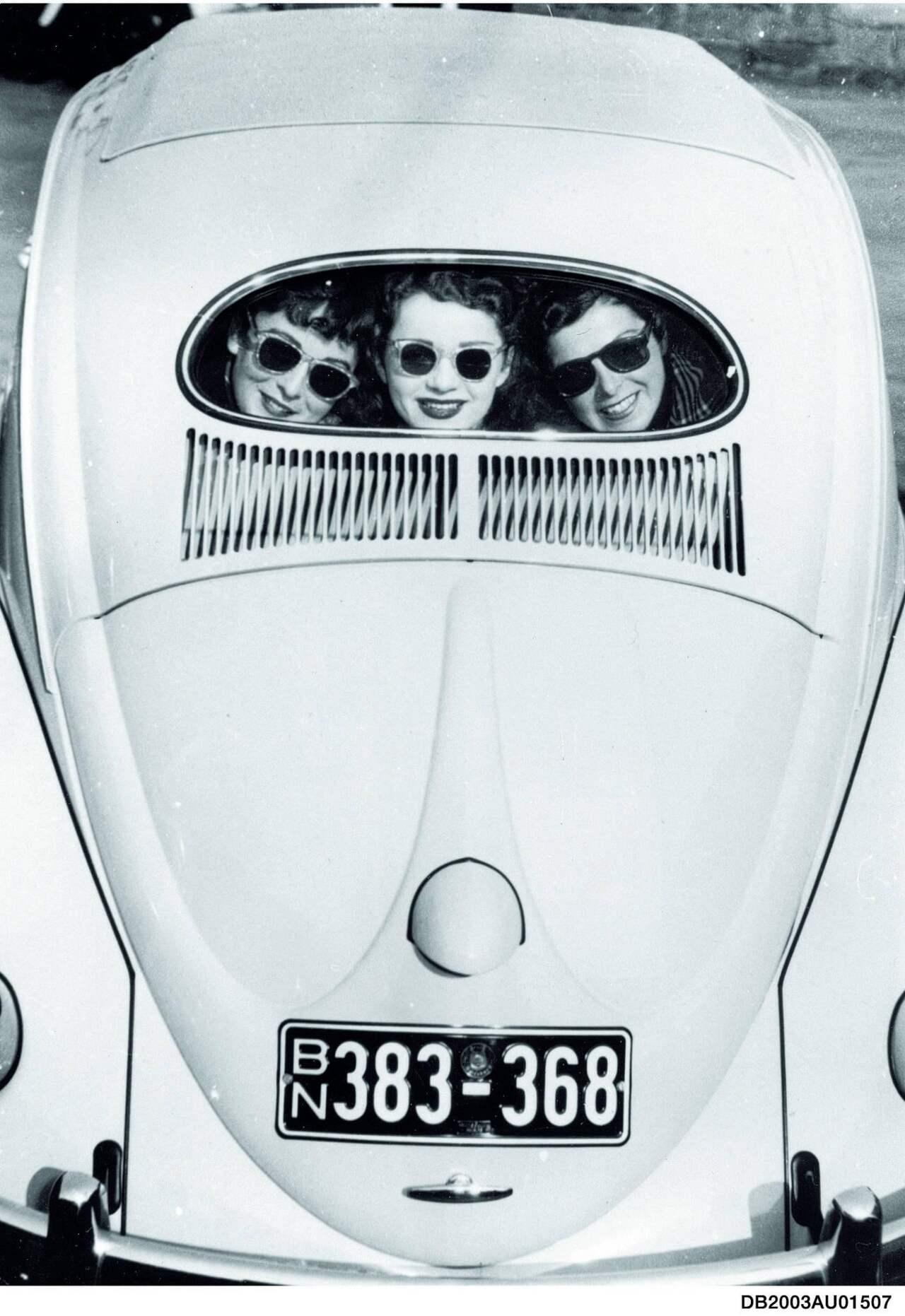 1953 löste der Ovali Käfer den Brezel ab