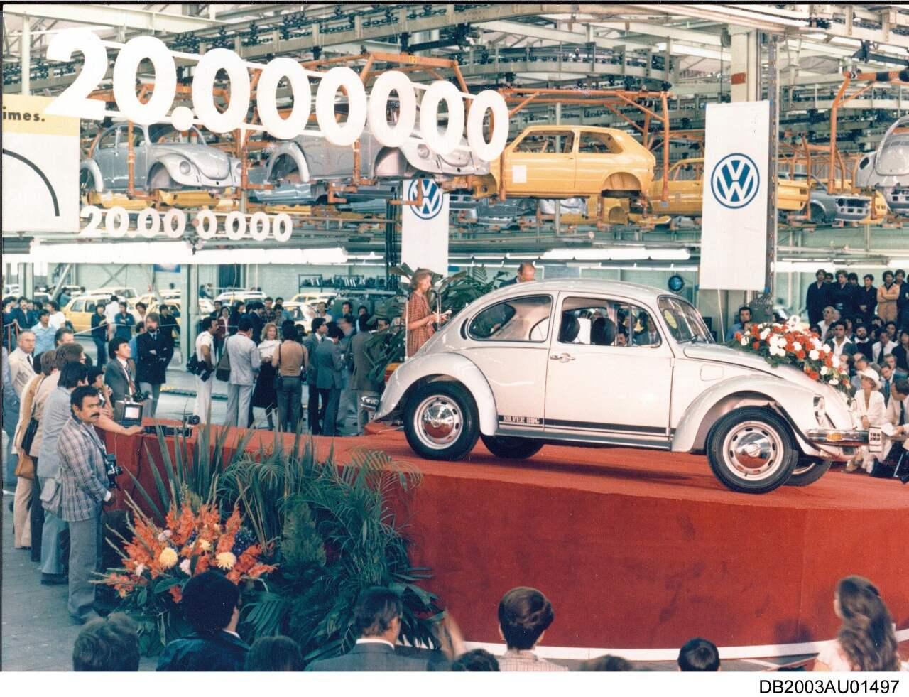 Der 20 Millionste VW Käfer