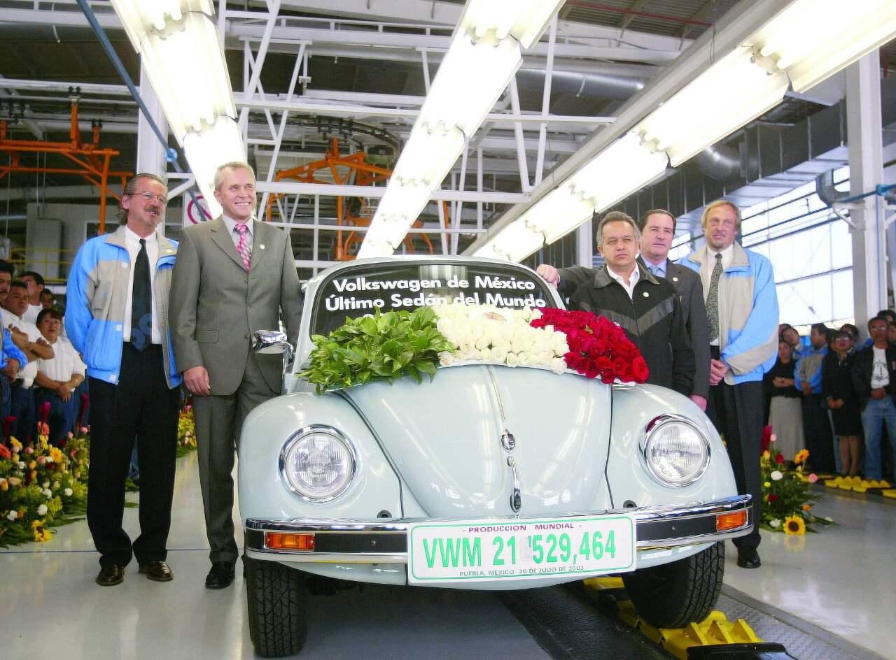 letzter gebauter VW Käfer