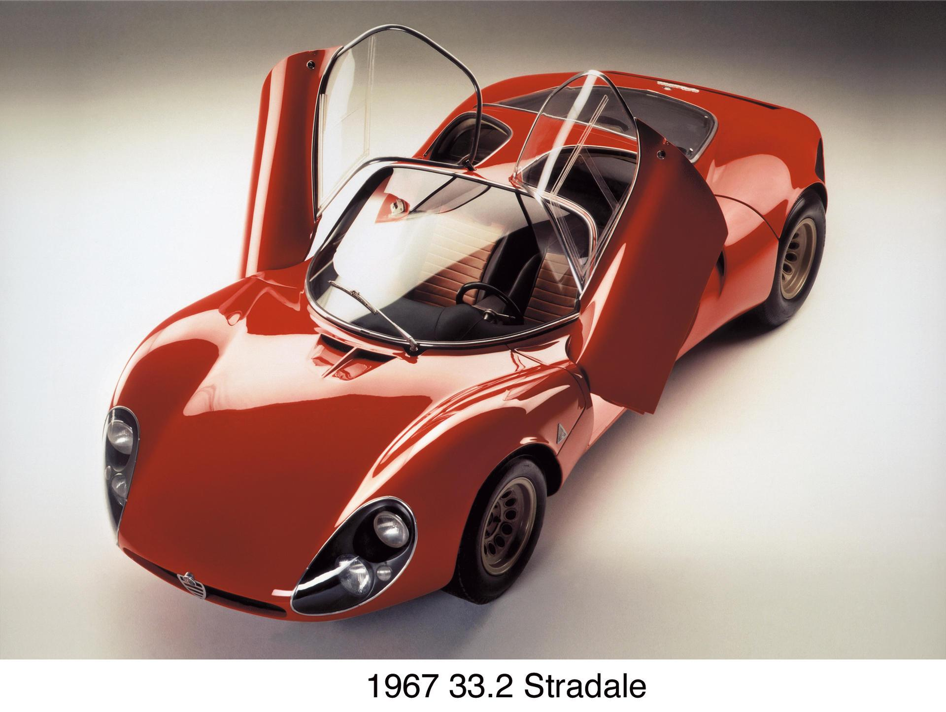 Alfa Romeo 33 Stradale Prototipo