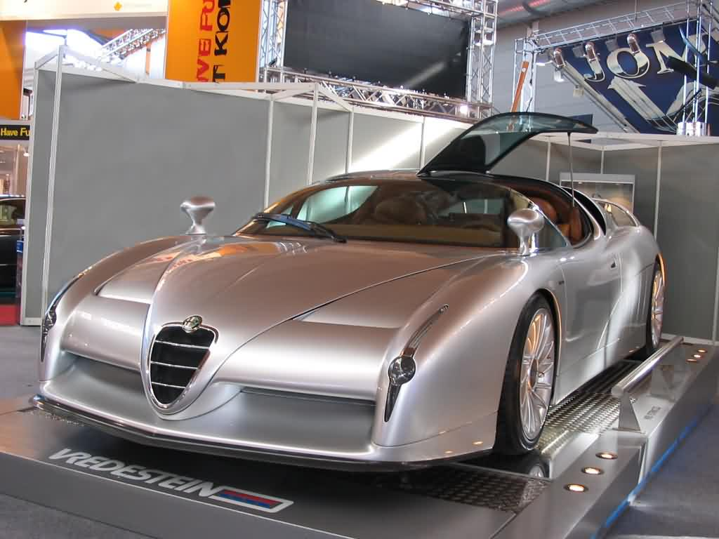 Alfa Romeo Scighera - Studie