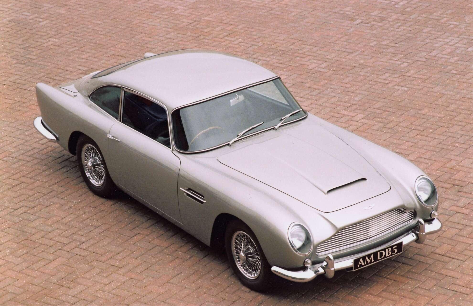 Aston Martin DB5 Exterieur
