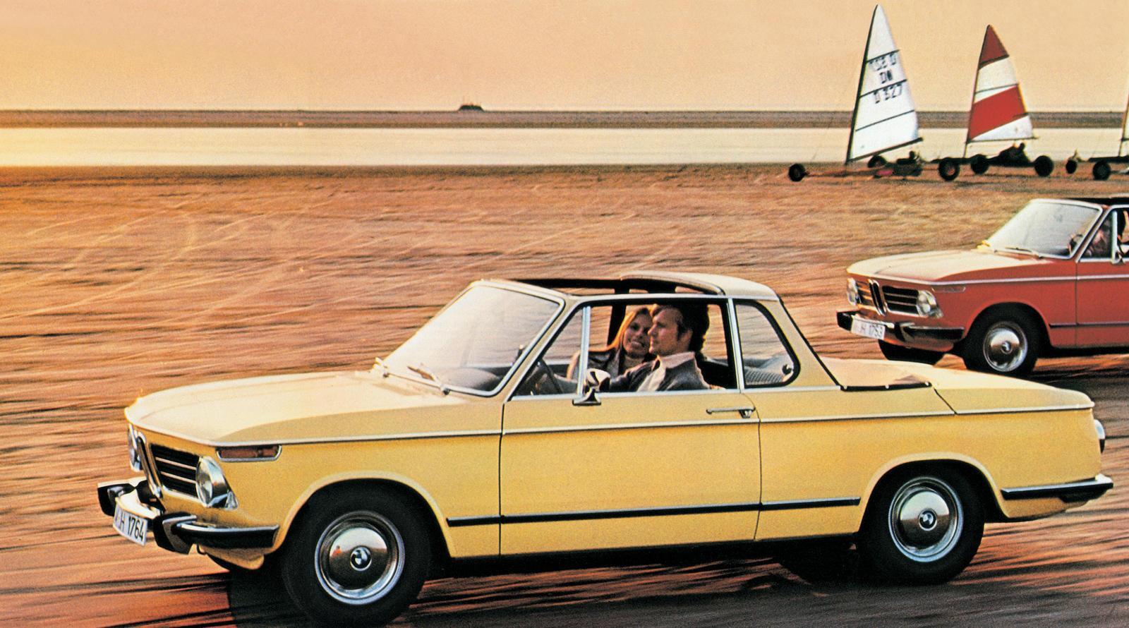 BMW 2002 Baur Cabrio