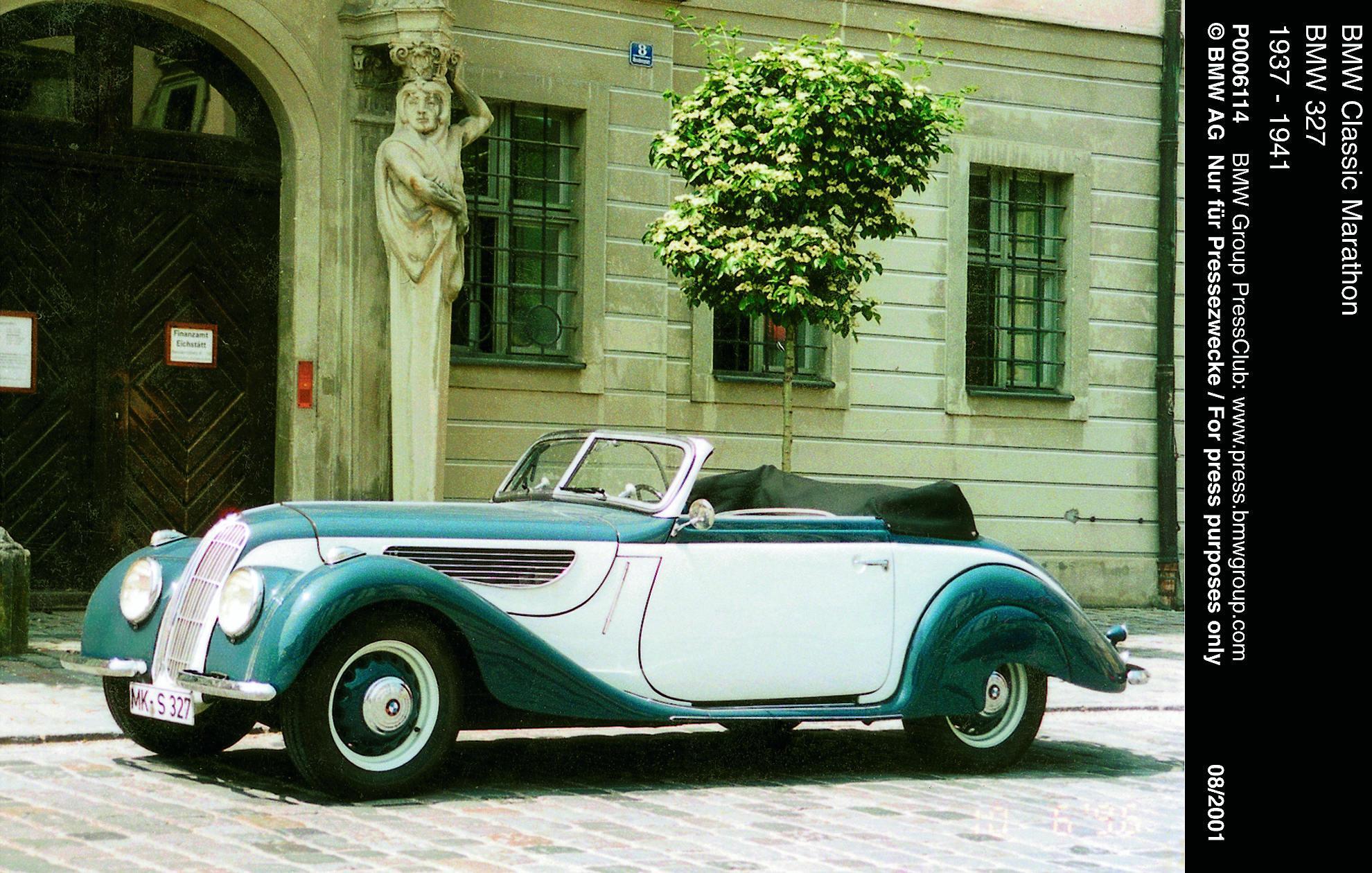 BMW 327 Cabriolet 1937 bis 1941