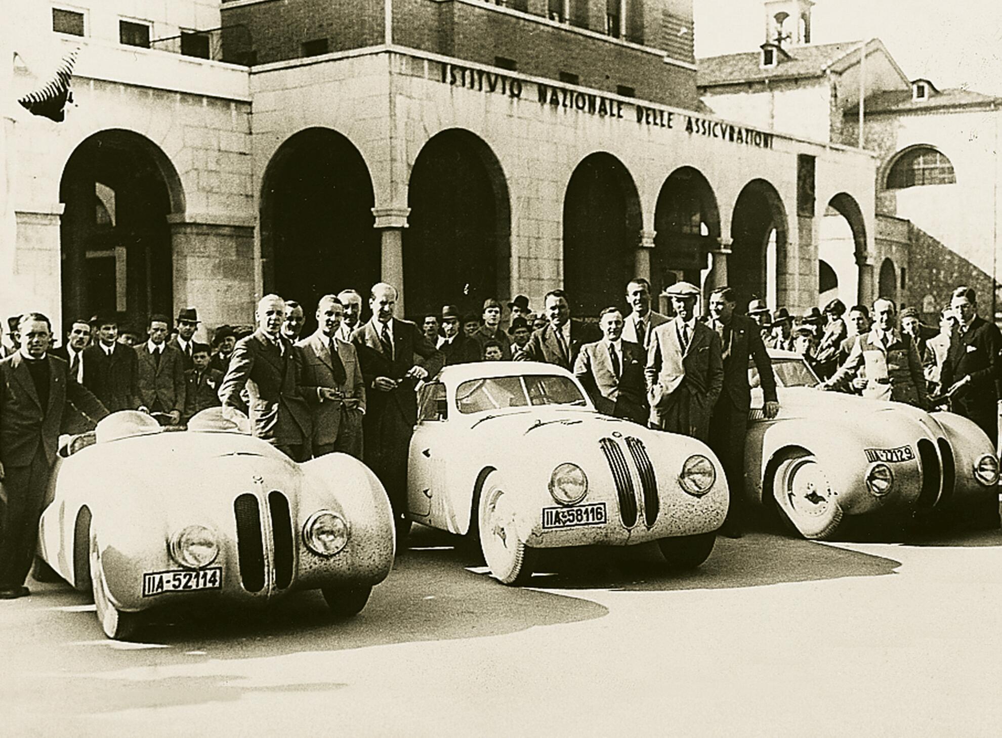 BMW 328 mm Gesamtsieger bei der Mille Miglia 1940