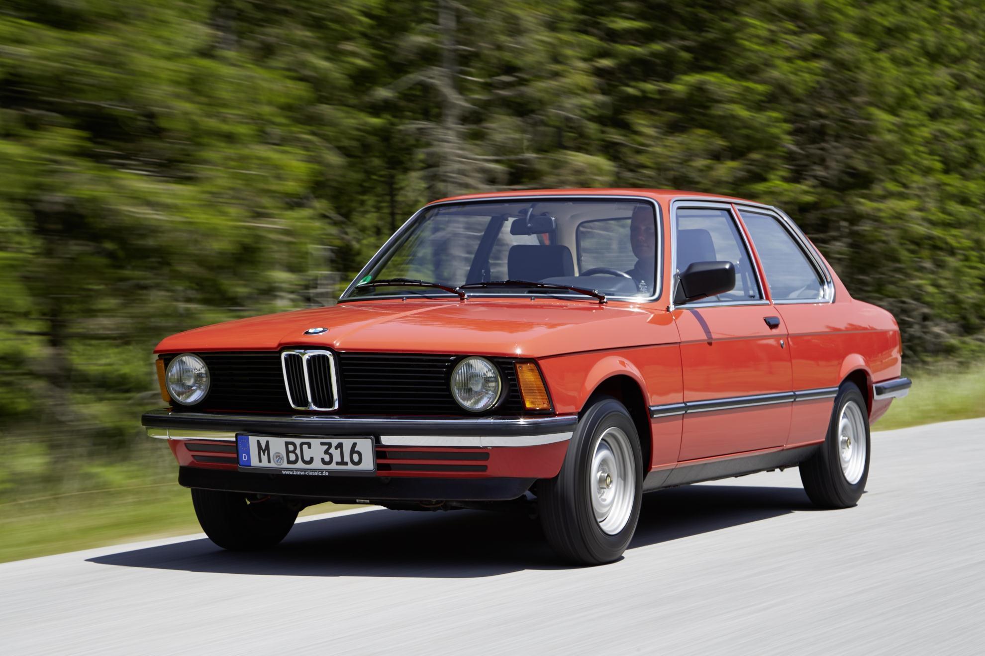 3er BMW E21, Bauzeit: 1975 bis 1983