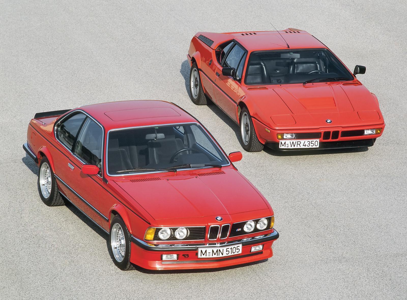 BMW E24 M635 CSi & BMW M1