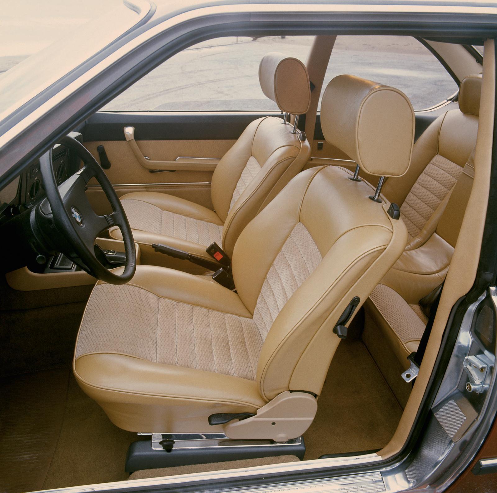 BMW 6er E24 Innenraum