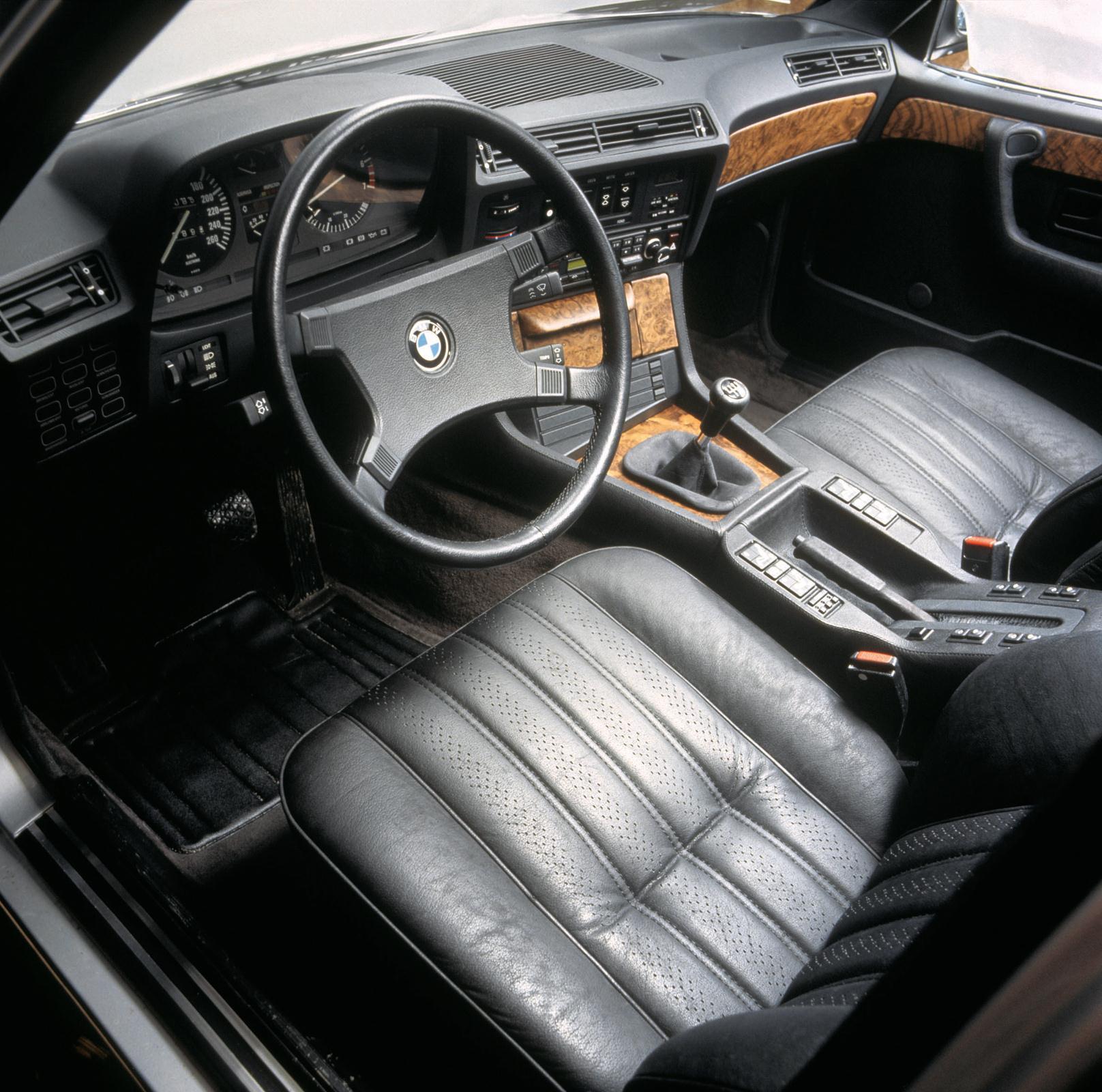 BMW 7 E23 Innenraum