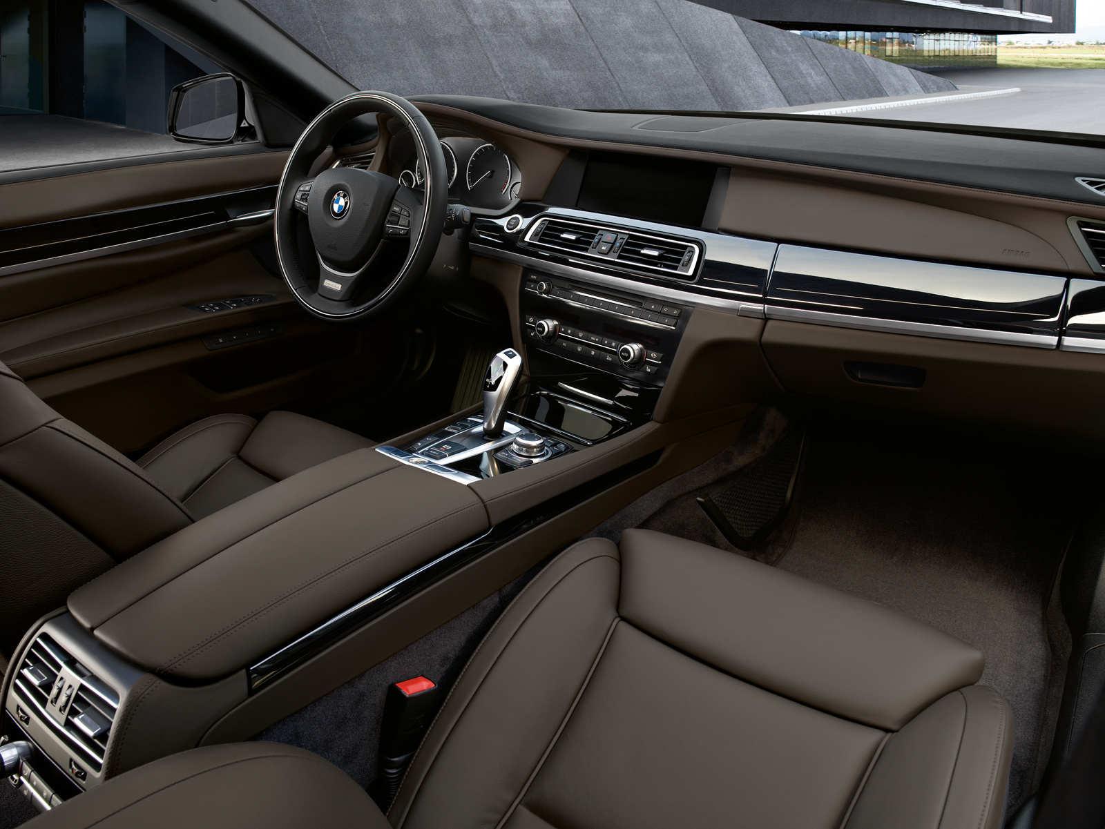 BMW F01 Cockpit