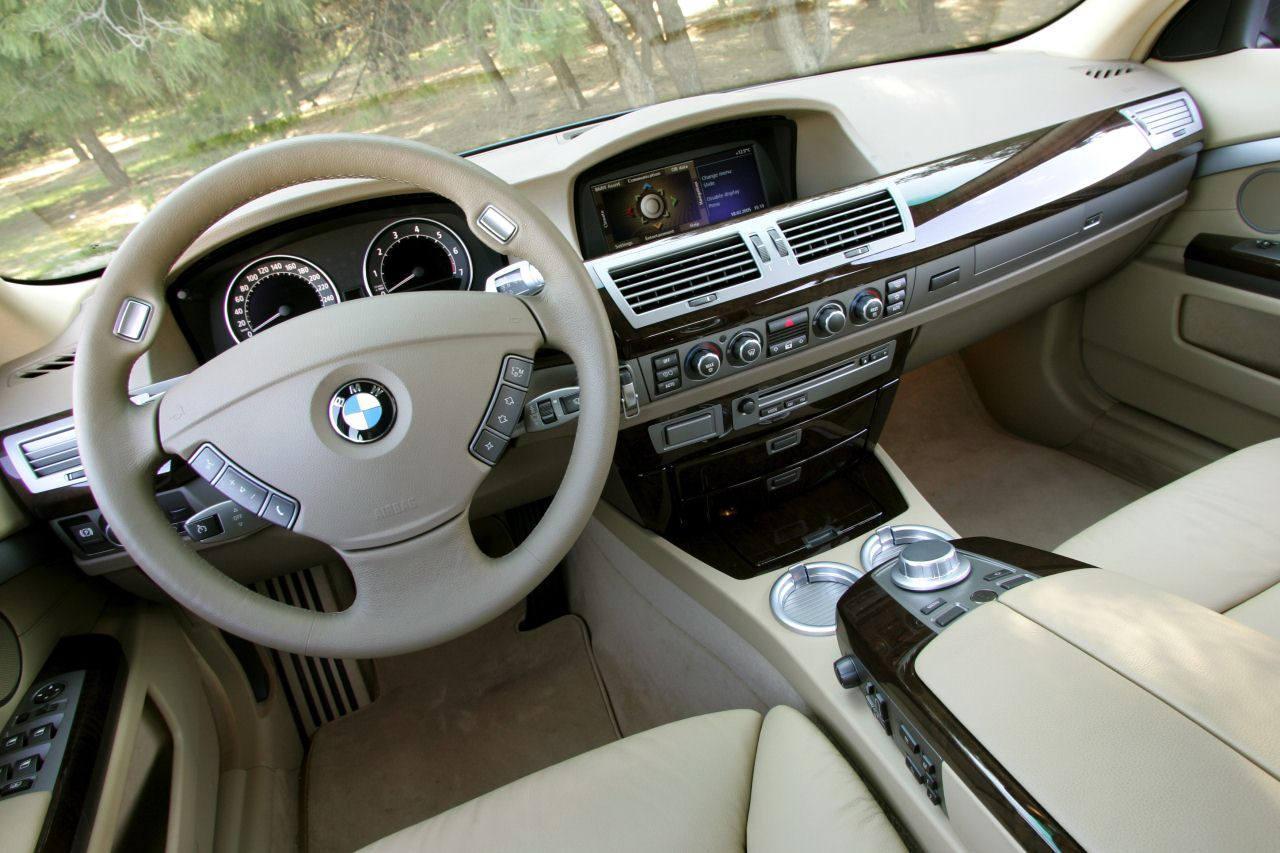BMW 7er E65 Interieur