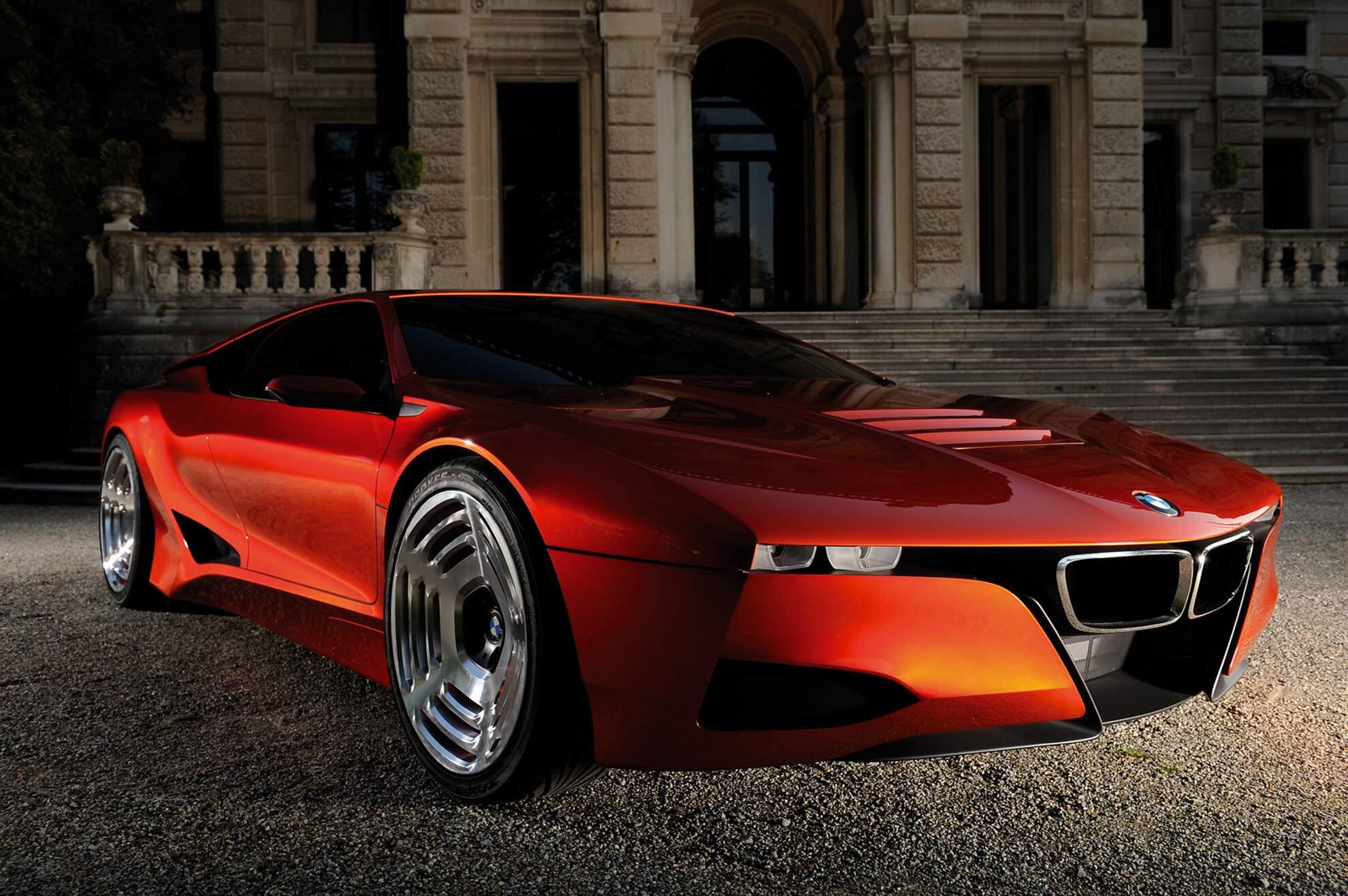 BMW M1 Hommage Frontperspektive