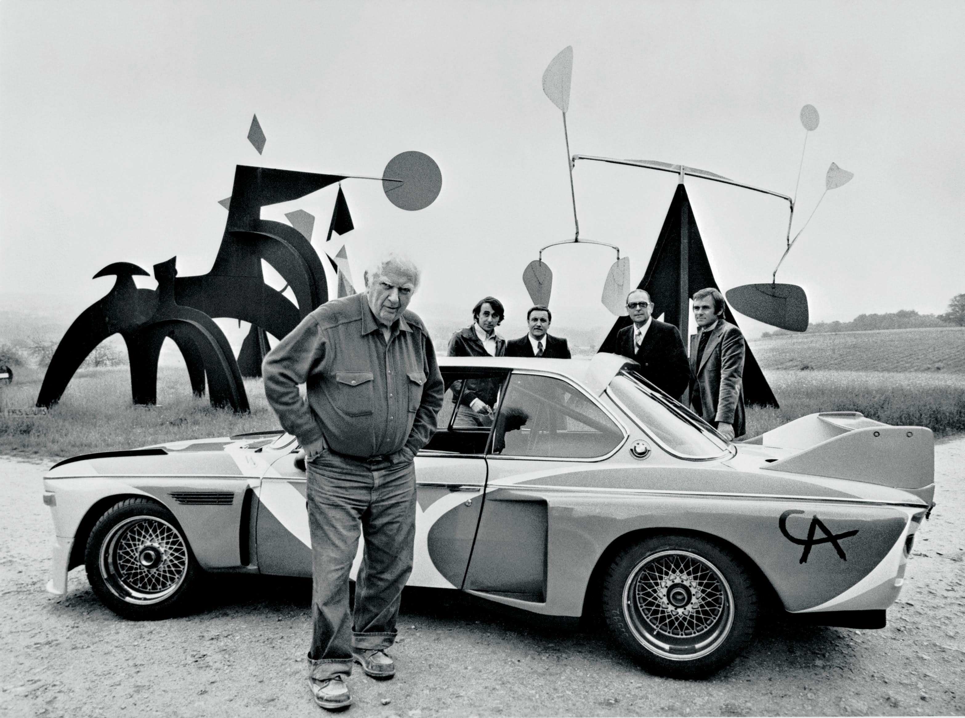 Alexander Calder & BMW 3.0 CSL