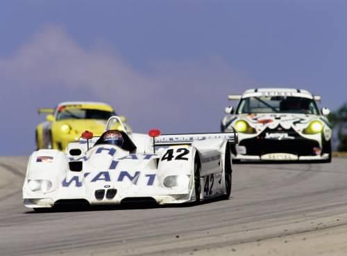 Art Car - Jenny Holzer - BMW V12 LMR (ALMS Road Atlanta 2000)