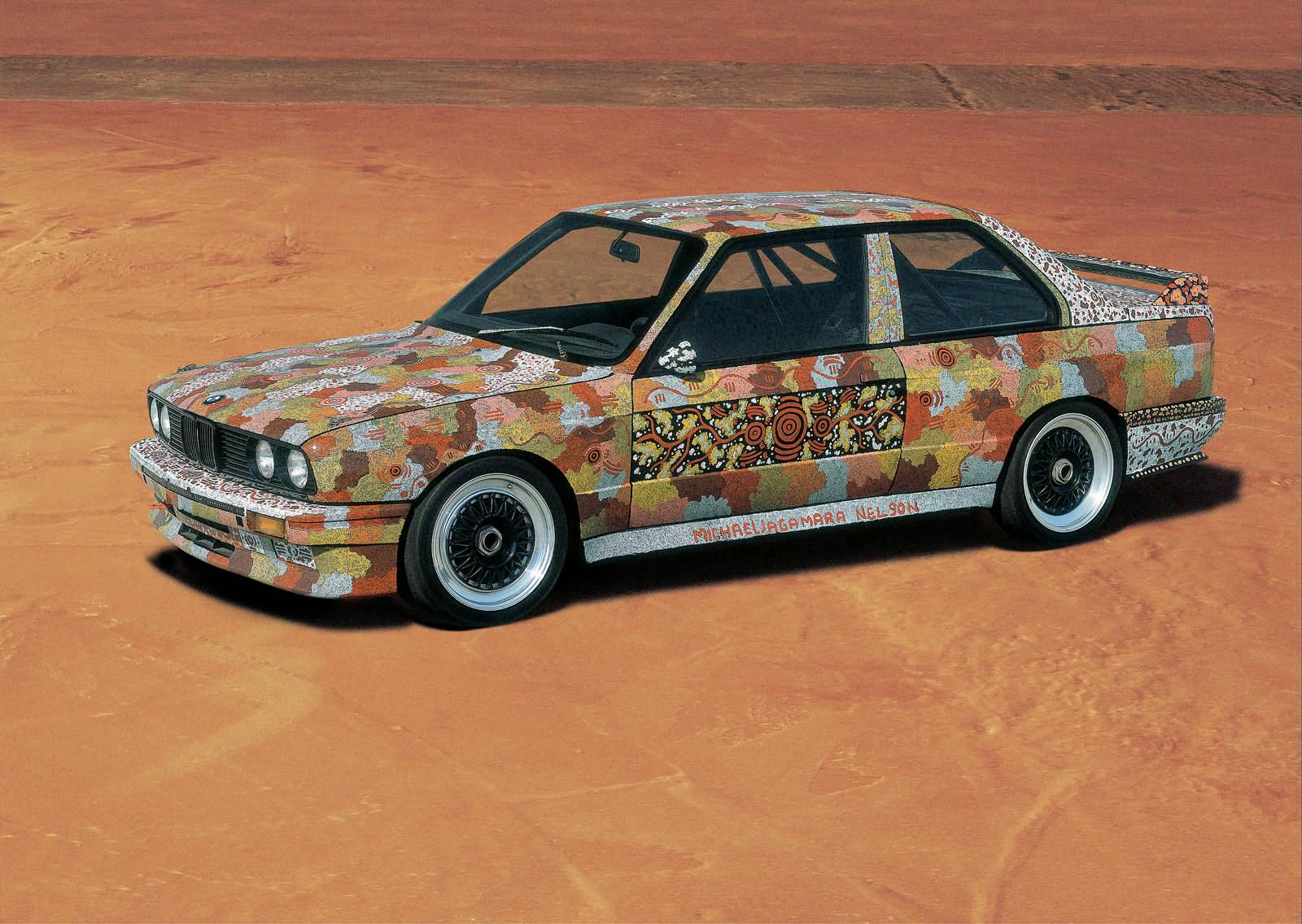 Michael Jagamara Nelson - BMW M3 Gruppe A Rennversion