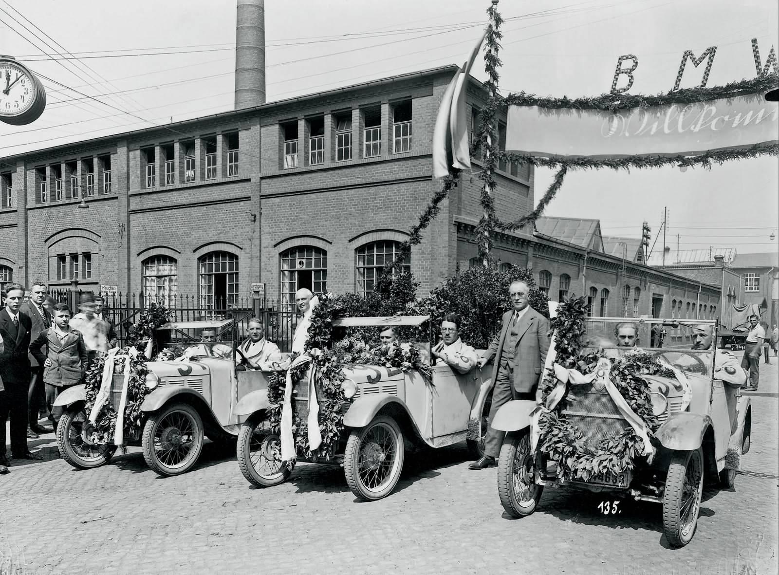 BMW 3/15 PS auf der internationalen Alpenfahrt 1929