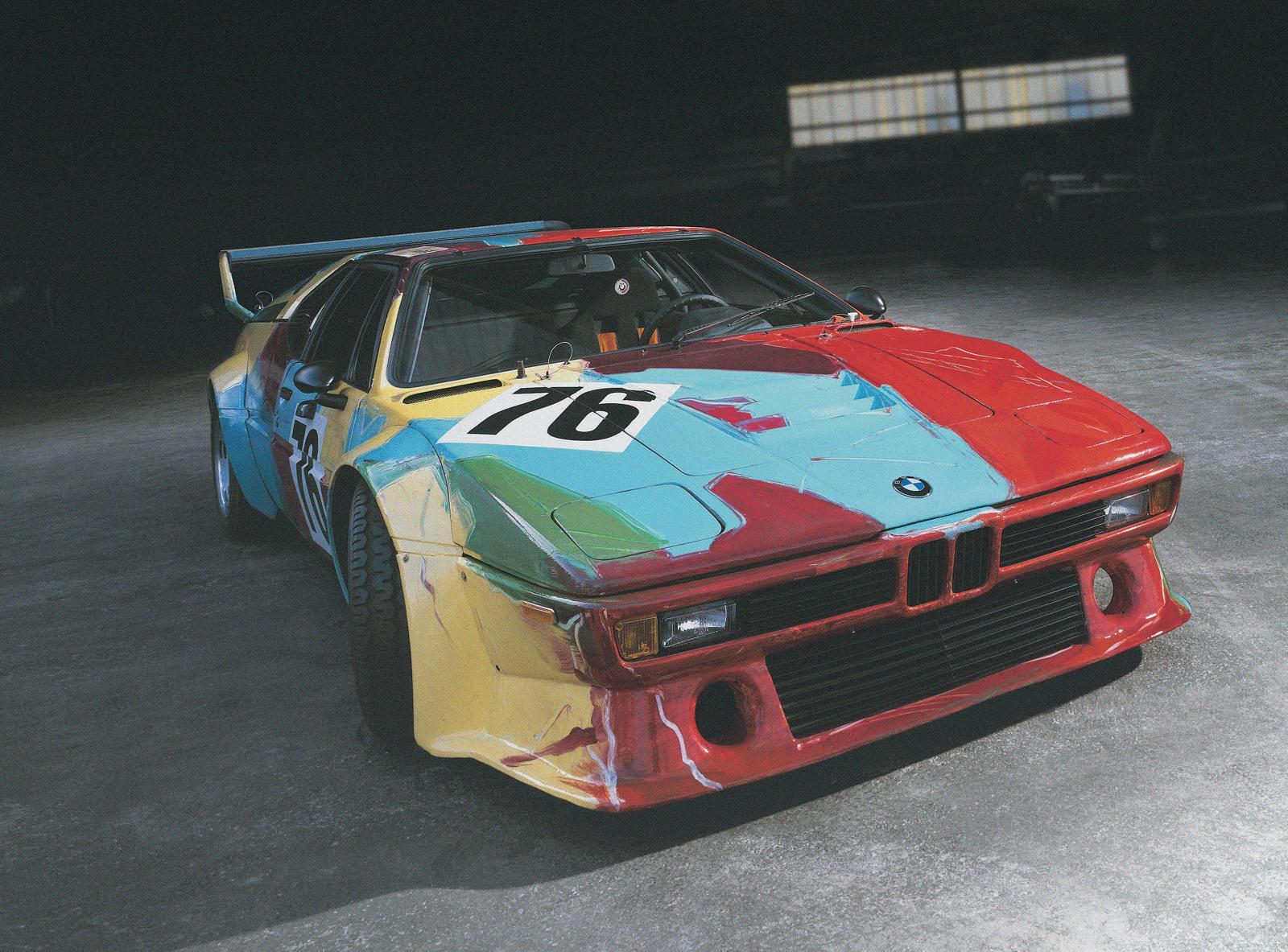 BMW M1 Kunstwerk von Andy Warhole