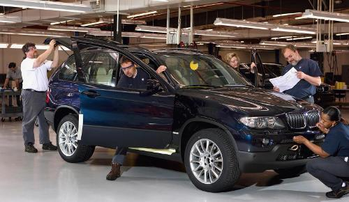 BMW X5 E53 - Produktion in USA Spartanburg