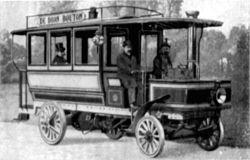 De Dion Bouton Dampfomnibus m