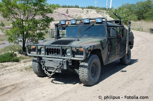"""HMMWV Spitzname """"Humvee"""""""