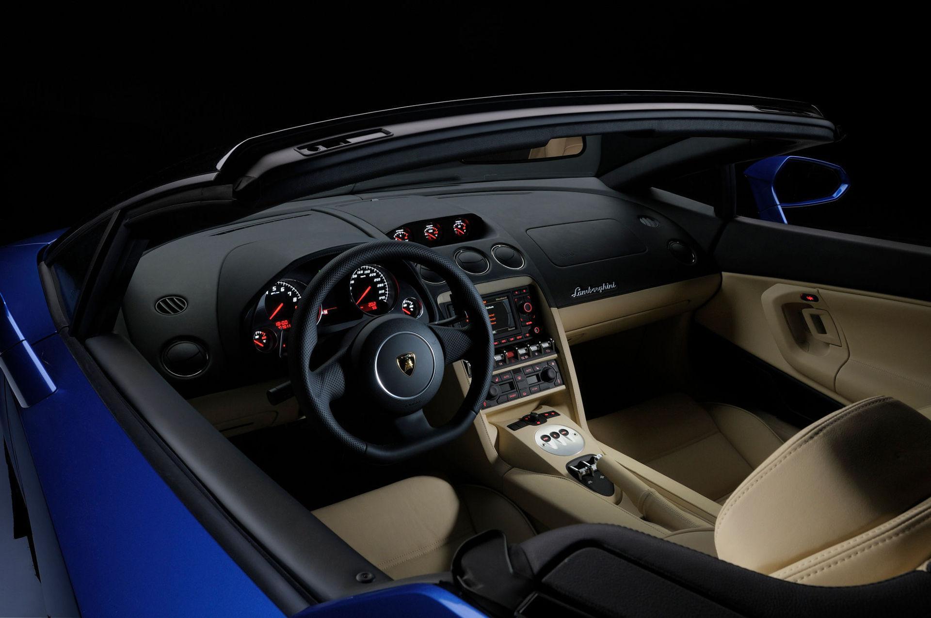 Lamborghini Gallardo LP 550-2 Spyder - Innenraum