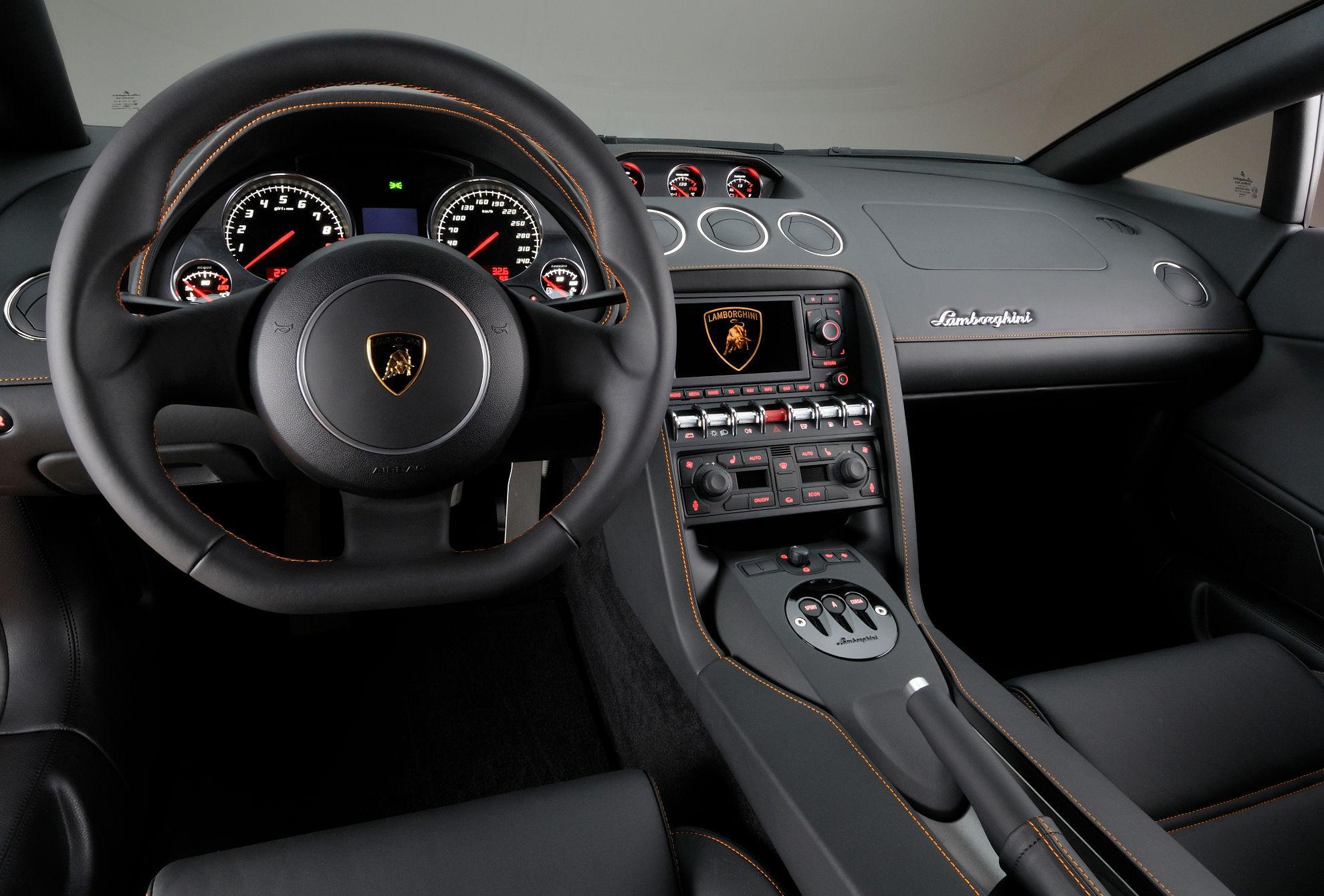 Lamborghini Gallardo-LP-560-4 Bicolore - Interieur